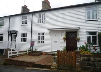 Thumbnail 2 bed terraced house to rent in Bethel Road, Sevenoaks