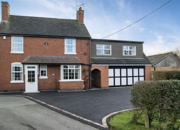 Thumbnail 5 bed detached house for sale in Chapel Street, Stapleton, Leicester
