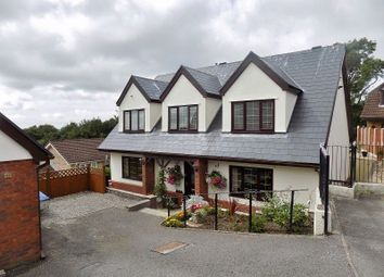 Thumbnail 5 bed detached house for sale in The Woodlands, Brackla, Bridgend.
