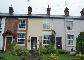 Thumbnail 2 bed terraced house to rent in Hanbury Road, Droitwich
