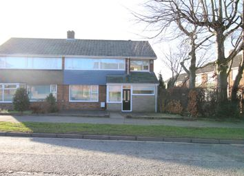 Thumbnail 4 bed semi-detached house for sale in Hillhead Parkway, Chapel House, Newcastle Upon Tyne