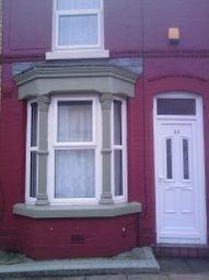 Thumbnail 2 bedroom terraced house to rent in Sunlight Street, Tuebrook, Liverpool