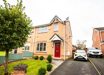 Thumbnail 3 bed semi-detached house to rent in Leavale Close, Little Hulton, Manchester