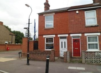 Thumbnail 2 bed end terrace house to rent in Barrington Road, Colchester