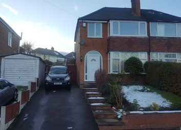 Thumbnail 3 bedroom semi-detached house to rent in Cardington Aveue, Birmingham