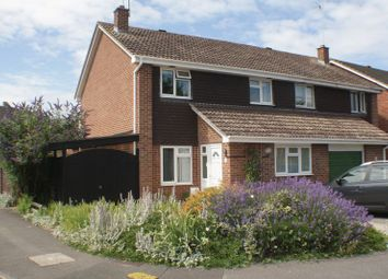 Thumbnail 4 bed semi-detached house to rent in Godstow Close, Woodley, Reading