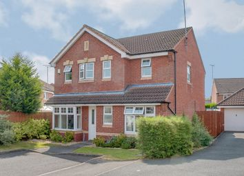 Thumbnail 4 bed detached house for sale in Jackfield Close, Matchborough East, Redditch
