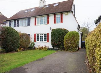 Thumbnail 3 bed semi-detached house for sale in The Parkway, Iver