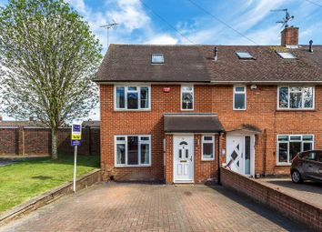 Thumbnail 3 bed end terrace house for sale in Kilnmead Close, Crawley