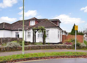 Billy Lows Lane, Potters Bar, Herts EN6. 4 bed semi-detached bungalow for sale