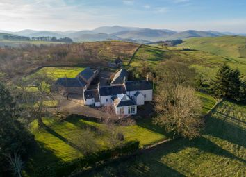 Thumbnail 4 bedroom farmhouse for sale in Broughton, Biggar