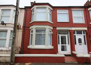 Thumbnail 3 bed terraced house to rent in Goodacre Road, Walton, Liverpool