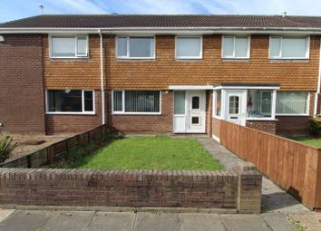 Thumbnail 3 bedroom terraced house to rent in Plover Close, Blyth