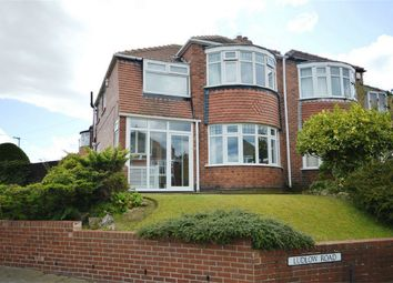 Thumbnail 3 bed semi-detached house for sale in Ludlow Road, Sunderland, Tyne And Wear