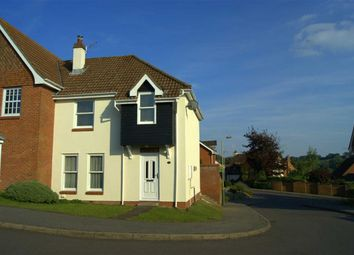 Thumbnail 3 bedroom semi-detached house to rent in Aubrey Close, Barton Park, Marlborough, Wiltshire