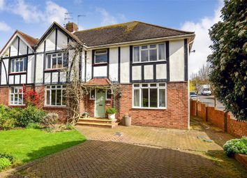 Thumbnail 5 bed semi-detached house for sale in Goldstone Crescent, Hove, East Sussex