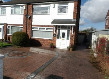 Thumbnail 3 bedroom semi-detached house to rent in Bruntwood Avenue, Heald Green, Cheadle