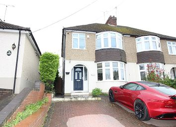 Thumbnail 3 bed semi-detached house for sale in Cliffe Road, Rochester