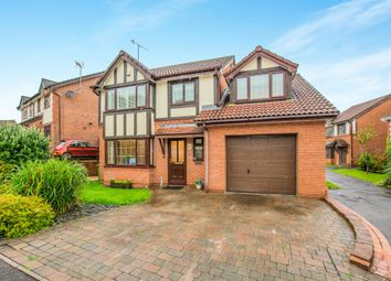 Thumbnail 4 bed detached house for sale in Juniper Crescent, Henllys, Cwmbran