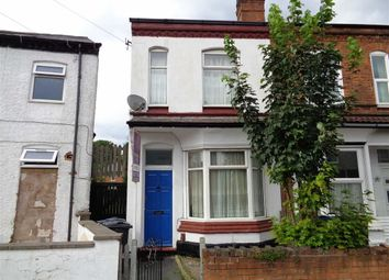 Thumbnail 3 bedroom end terrace house for sale in St. Margarets Road, Ward End, Birmingham