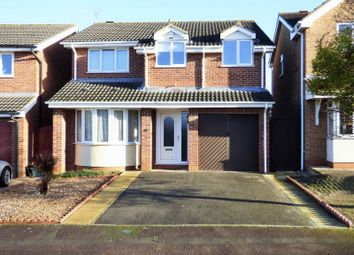 Thumbnail 4 bed detached house for sale in Broad Leys Road, Barnwood, Gloucester
