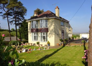 Thumbnail 4 bed detached house for sale in Broadmead House, Penuel, Llanmorlais, Gower, Swansea