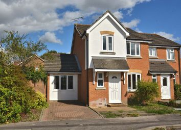 Thumbnail 3 bed semi-detached house for sale in Blackwater Way, Didcot