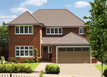 "Thumbnail 4 bedroom detached house for sale in ""Sunningdale"" at Lady Lane, Blunsdon, Swindon"