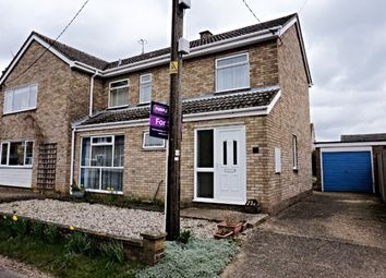 Thumbnail 3 bed semi-detached house for sale in Reads Street, Stretham, Ely