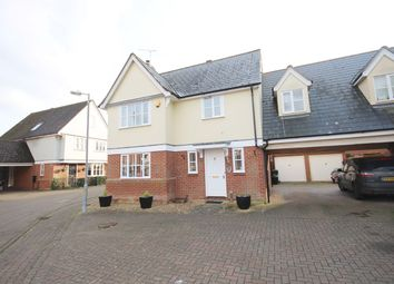 Thumbnail 4 bed link-detached house for sale in Williams Drive, Braintree