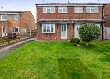 Thumbnail 3 bed semi-detached house for sale in Brassington Close, Giltbrook, Nottingham