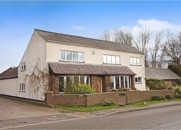 Thumbnail 4 bed detached house for sale in Ratcliffe Road, Loughborough