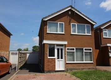 Thumbnail 3 bed detached house for sale in Nairn Close, Nuneaton