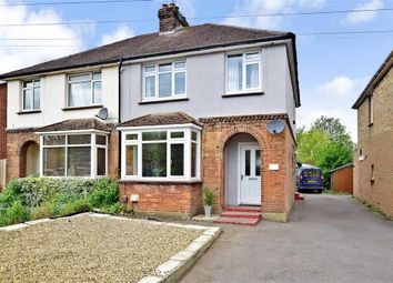 Thumbnail 3 bed semi-detached house for sale in New Hythe Lane, Larkfield, Kent