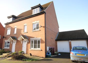 Thumbnail 3 bedroom semi-detached house to rent in Saffre Close, Winterton, Scunthorpe