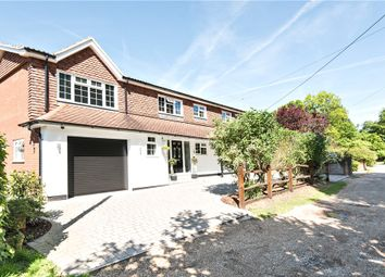 Thumbnail 4 bed detached house for sale in Little Heath Road, Chobham, Woking, Surrey