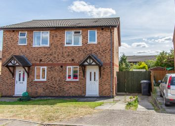 Thumbnail 2 bed semi-detached house for sale in Marywell Close, Hinckley