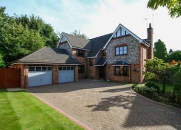 Thumbnail 5 bedroom detached house for sale in Royal Gardens, Bowdon, Altrincham