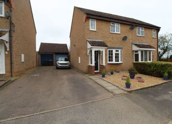 Thumbnail 3 bed semi-detached house for sale in Cherry Close, Houghton Conquest