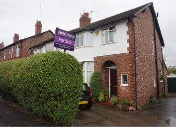 Thumbnail 3 bed semi-detached house for sale in Delahays Road, Altrincham