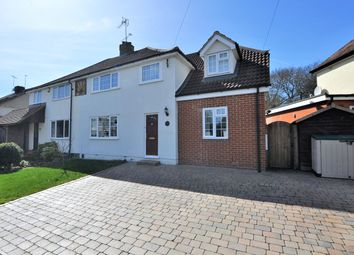 Thumbnail 4 bed semi-detached house for sale in Forebury Avenue, Sawbridgeworth, Hertfordshire