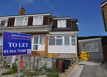 Thumbnail 2 bed semi-detached house to rent in Langham Way, Ivybridge