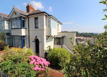 Thumbnail 3 bedroom semi-detached house for sale in Burridge Road, Chelston, Torquay