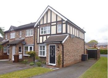 Thumbnail 2 bed semi-detached house for sale in Rye Close, Alsager, Stoke-On-Trent