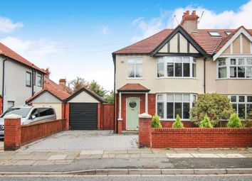 Thumbnail 3 bed semi-detached house for sale in Chesterfield Road, Crosby, Liverpool, Merseyside