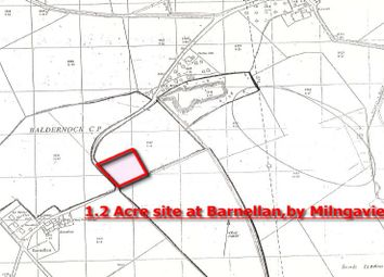 Thumbnail Land for sale in Area Of Land At Fluchter Road, Barnellan Nr Milngavie G626Ez