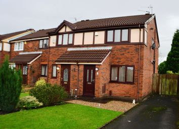 Thumbnail 2 bed semi-detached house for sale in Towncroft, Denton, Manchester