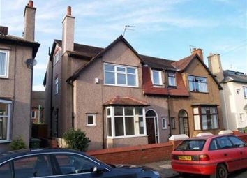 Thumbnail 4 bed semi-detached house to rent in Greasby Road, Wallasey