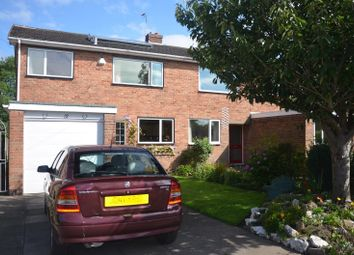 Thumbnail 3 bed property for sale in Grange Close, Ashby De La Zouch