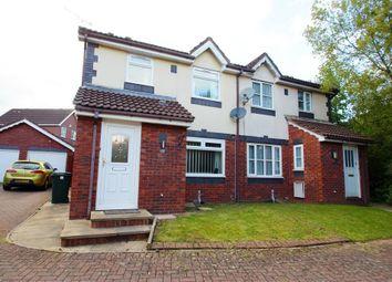 Thumbnail 3 bed semi-detached house to rent in Burwell Close, Pontprennau, Cardiff